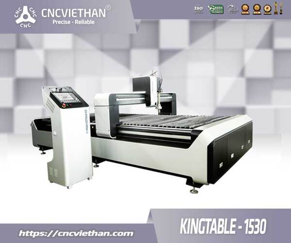 MÁY PLASMA CNC 1530 KING TABLE